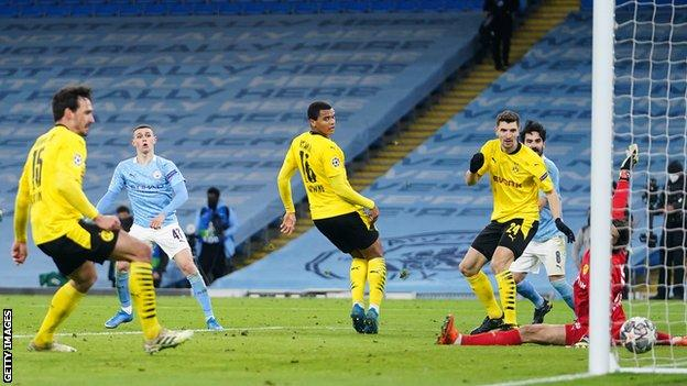 Champions League quarter-finals: Borussia Dortmund v Man City - BBC Sport