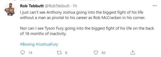 Rob Tebbutt tweet