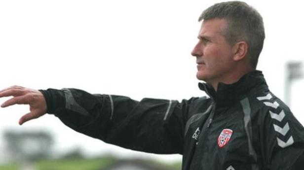 Stephen Kenny resigns as Derry City boss to take Shamrock Rovers job - BBC  Sport
