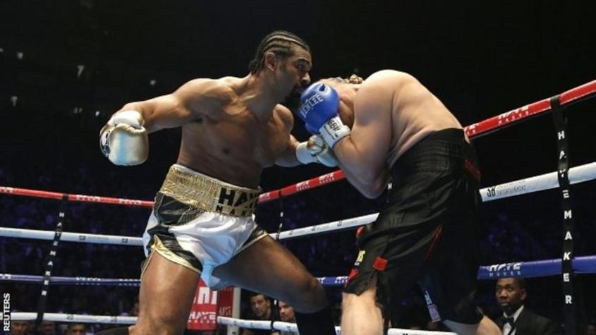 David Haye and Mark de Mori