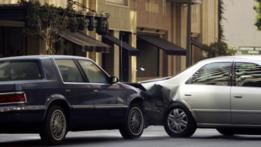 Choque automovilístico