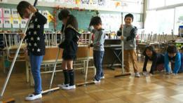 Limpieza en las escuelas