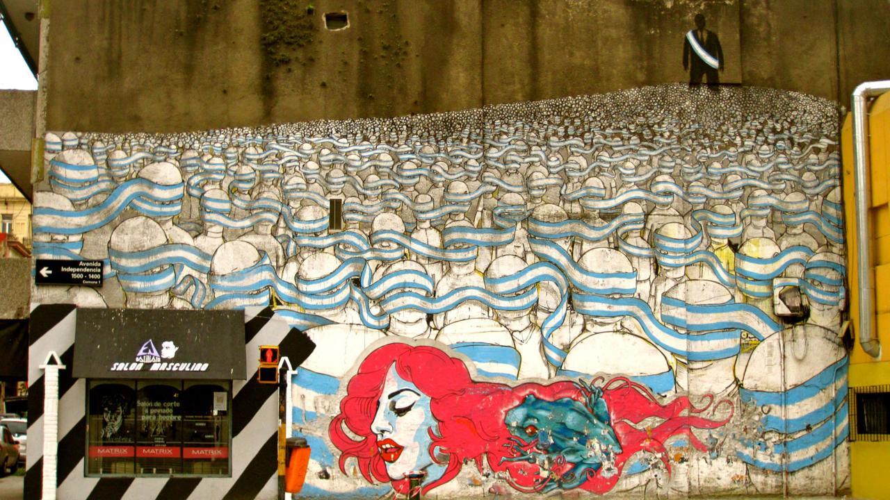 Buenos Aires street art Argentina (Credit: Bridget Gleeson)