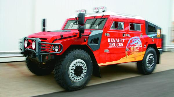 Renault Sherpa (Credit: Photo: Renault Trucks)