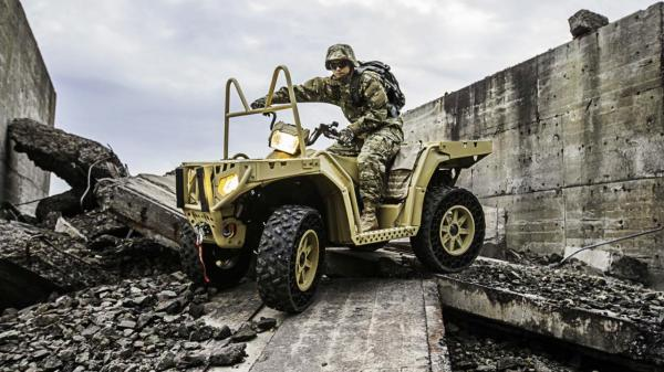 Polaris MV850 TerrainArmor Edition (Credit: Photo: Polaris Defense)