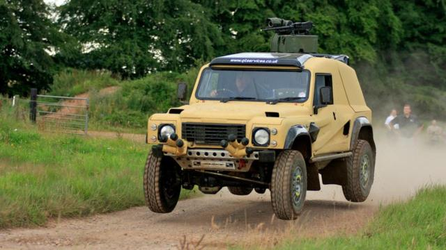 Supacat LRV 400 (Credit: Photo: Supacat Limited)