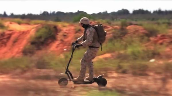 Go-Ped Knightrider (Credit: Photo: Go-Ped Tactical Division)