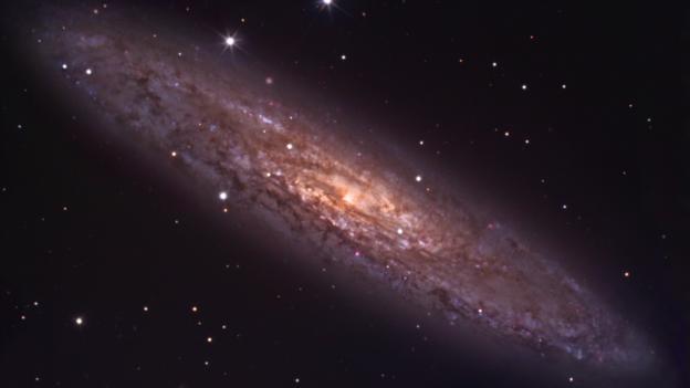 Einstein wanted to make sense of the universe (Credit: Robert Gendler/Jim Mistin)
