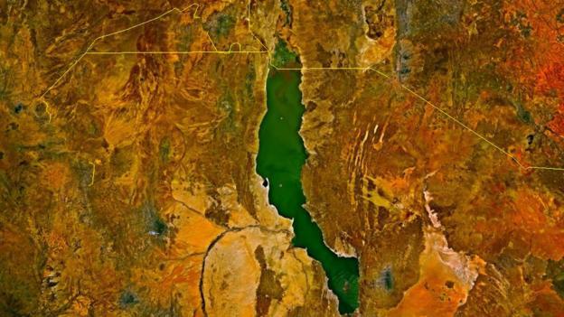 Lake Turkana was once much wetter (Credit: Nasa/Wikimedia commons)