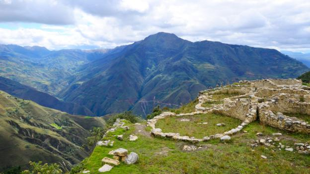 A view from the Kuelap archaeology site (Credit: Credit: Michael-John von Horsten/Alamy)