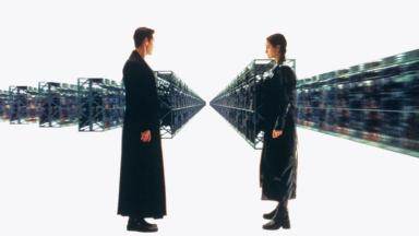 Could we all be living in the Matrix? (Credit: AF Archive/Alamy)