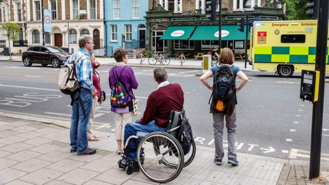 Disabled people make up 15% of the global population, but still experience many barriers to everyday life (Credit: Getty Images)