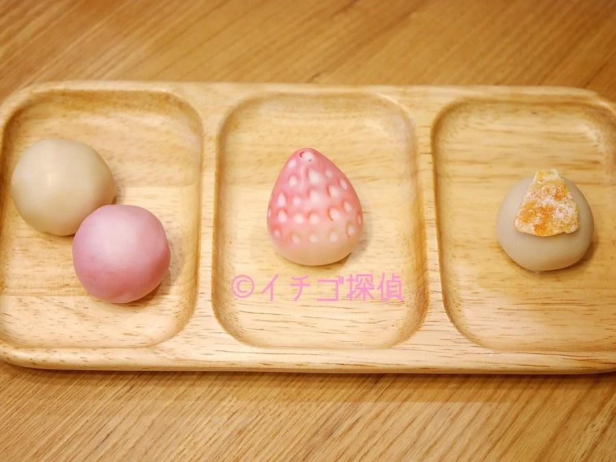 イチゴ探偵|濃厚ないちご餡使用の苺白鷺宝!浦和「菓匠 花見」の期間限定和スイーツ!
