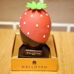 イチゴ探偵|ダロワイヨの苺をイメージした卵型ショコラ「ウフ フレーズ」を購入!中からは2つの魚型チョコが!