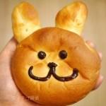 イチゴ探偵|ゆめかわいい!いちごうさぎのクリームパン!ひばりが丘パルコのクイーンズベーカリーにて