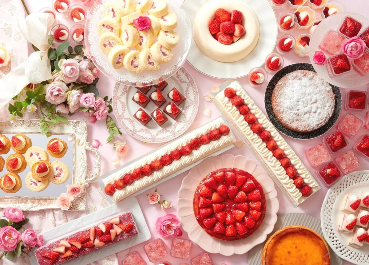 サンシャインシティプリンスホテル「いちごスイーツフェア」で【あまおう】と【とちおとめ】のケーキを食べ比べ!
