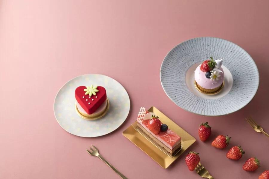 イチゴ探偵|3月限定!苺型のレアチーズタルト&苺型デニッシュがシェラトン・グランデ・トーキョーベイ・ホテルに登場