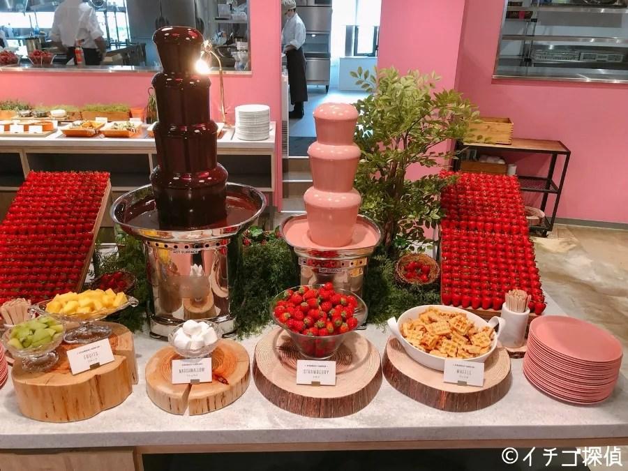 イチゴ探偵|【実食レポ】東京ストロベリーパークでビュッフェ!苺スイーツとイタリアンを食べ放題できる「パークサイドキッチン」