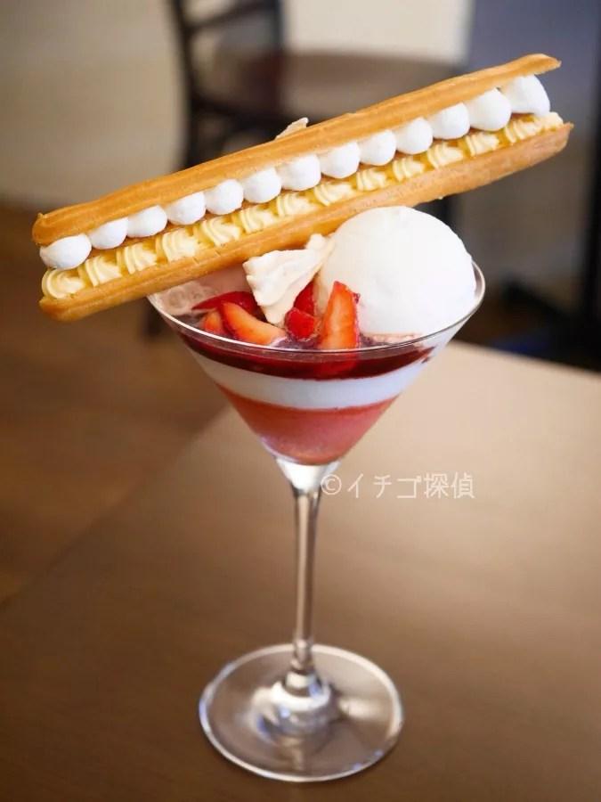 イチゴ探偵|【実食レポ】芸術的なイチゴとエクレアのパフェ!スギトラでジェラート専門店ならではの美しいパフェを堪能!