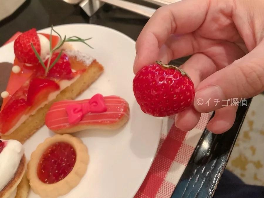 イチゴ探偵|【実食レポ】ベリー・ベリー・スイーツブッフェ「ANAインターコンチネンタルホテル東京」