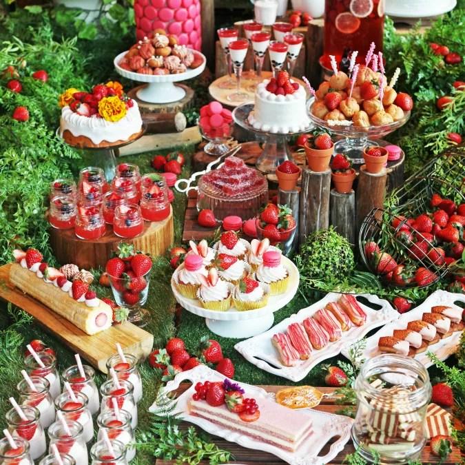 【XEX 日本橋】いちごビュッフェ『Strawberry Fields ~#都会のいちご畑~』開催!ゼックス系列店でも!