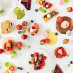大阪「太閤園」で【いちごスイーツ&ランチビュッフェ】Strawberry Color Drop