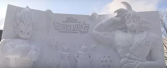 ドラゴンボール30周年石像