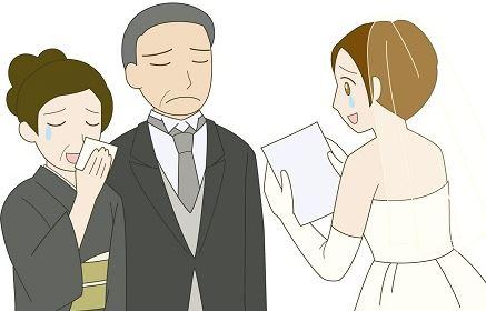 結婚式 両親への手紙 書き方