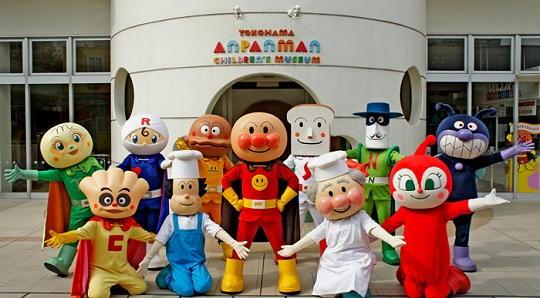 横浜アンパンマンミュージアム 混雑予想