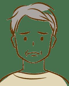悩む男性1