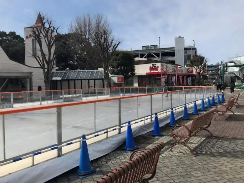 わくわくスケートワールドのスケートリンク