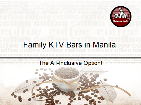 Family KTV Bars in Manila