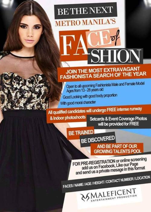 FACE OF FASHION Season 3