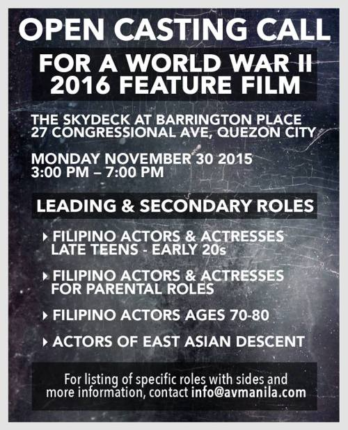 Philippine Auditions 14 November 2015