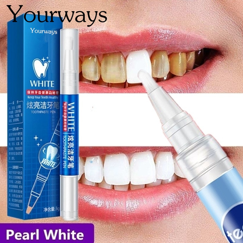 Magic Natural Teeth Whitening Gel Pen Oral Care Remove Stains Tooth Cleaning Teeth Whitener Tools Best Selling Product
