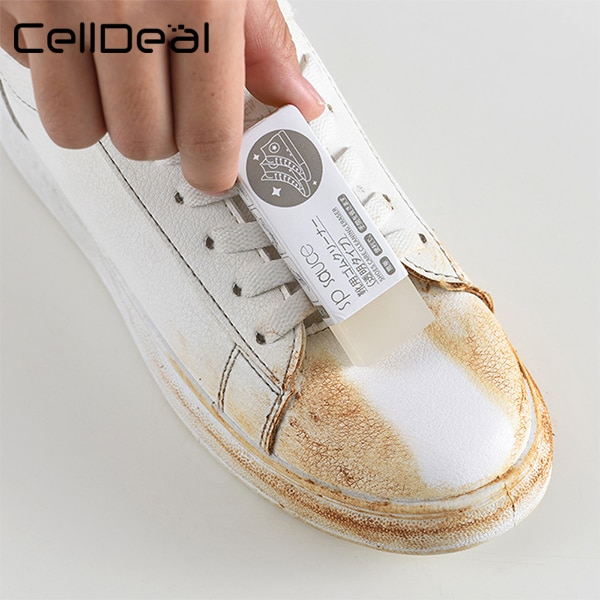 CellDeal 1Pc Cleaning Eraser Suede Sheepskin Matte Leather And Leather Fabric Care Shoes Care Leather Cleaner Sneakers Care Children Shoes Men's Shoes Shoes Women's Shoes