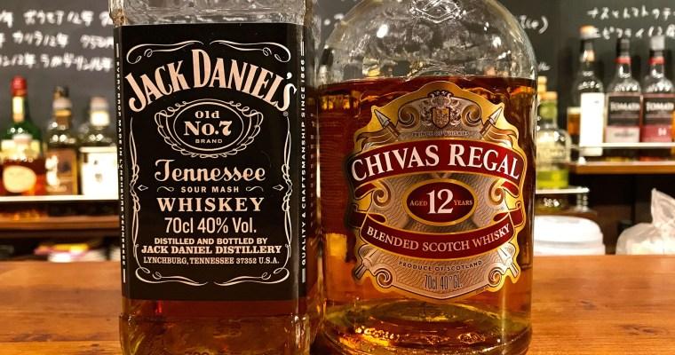 スコッチウイスキーとテネシーウイスキー