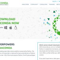 AnacondaでWindows上にPython環境を構築