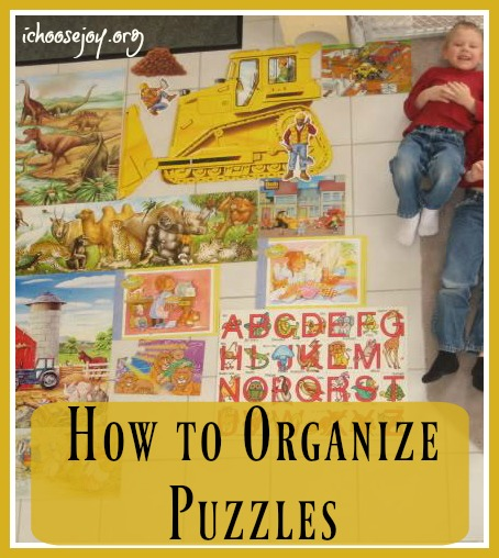 How to Organize Puzzles