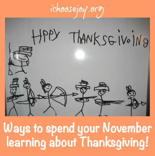 Learning about Thanksgiving