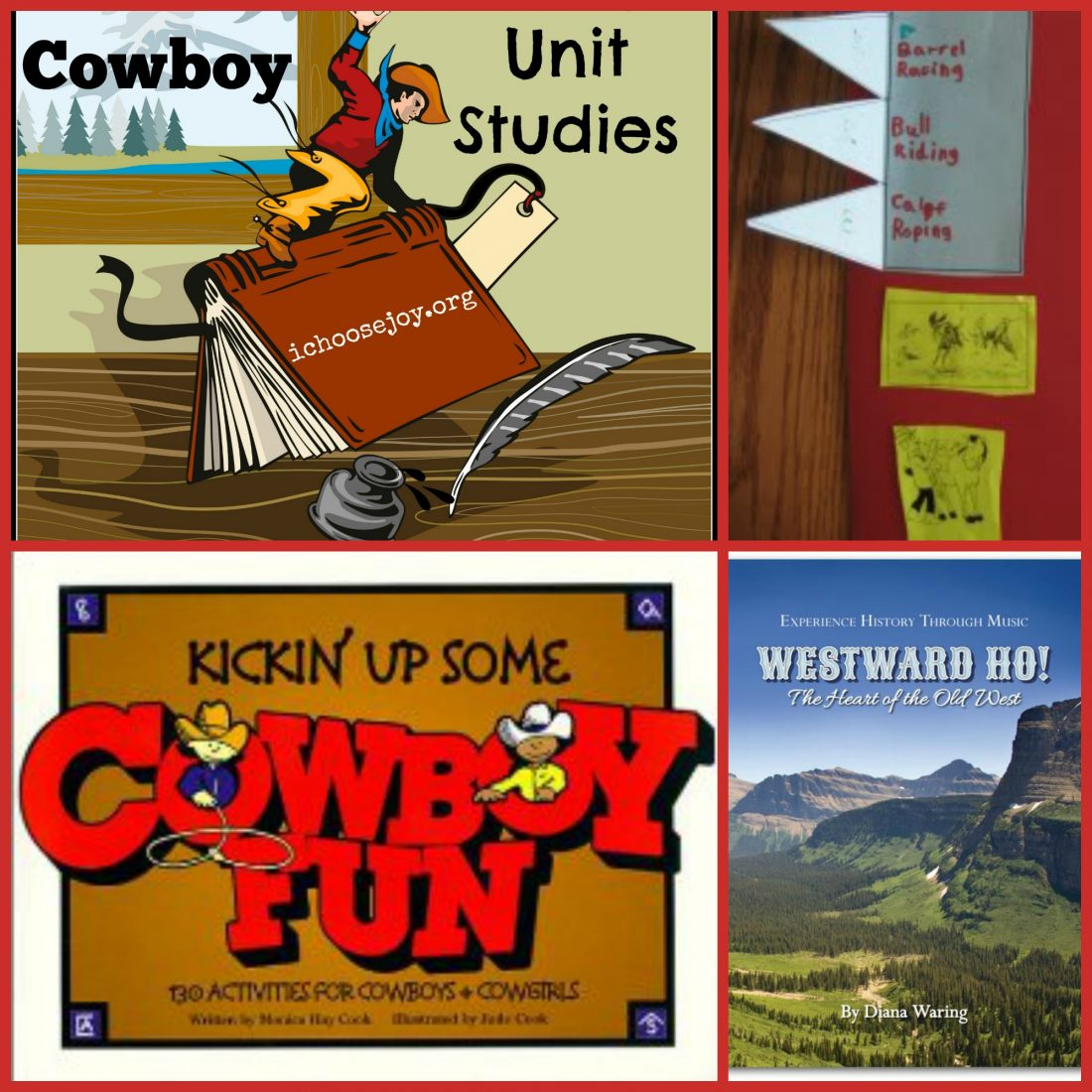 Cowboy Unit Study and Lapbook
