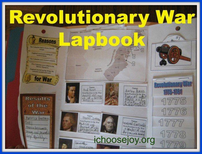 Revolutionary War Lapbook