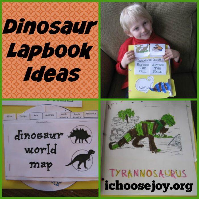 Dinosaur Unit Study and Lapbook