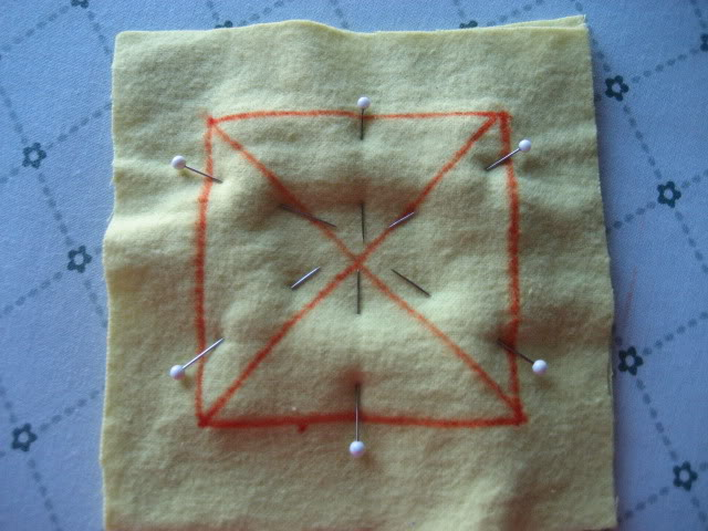 Rag Quilt Potholder sewing kit
