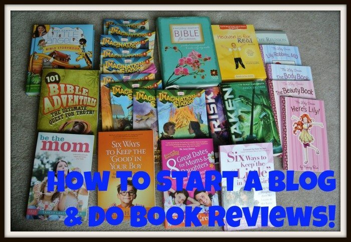Start Blogging to do Book Reviews