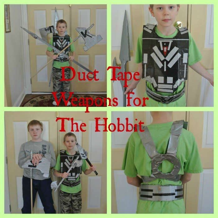 Collage-Hobbit Duct Tape Weapons 2