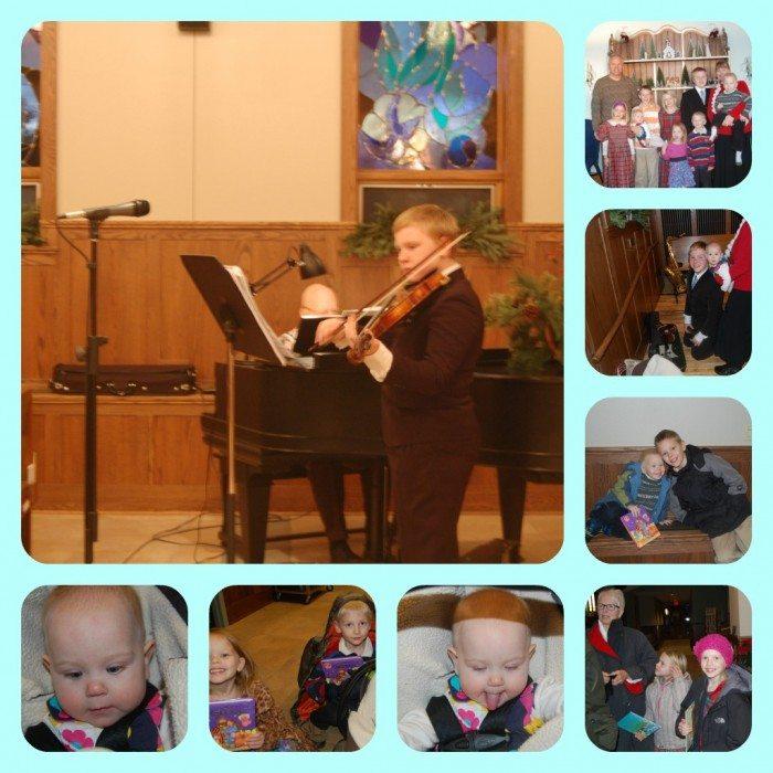 PicMonkey Collage Violin at Church