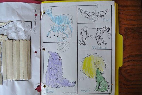 Little House Lapbook 006