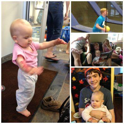 Baby Walking/ Memorial Day pictures