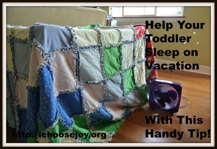 Vacation Toddler Sleep Tip